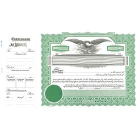 goes 196 stock certificate